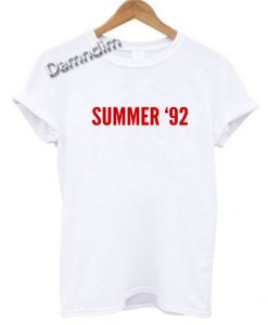 Summer 92 Selena Gomez Funny Graphic Tees