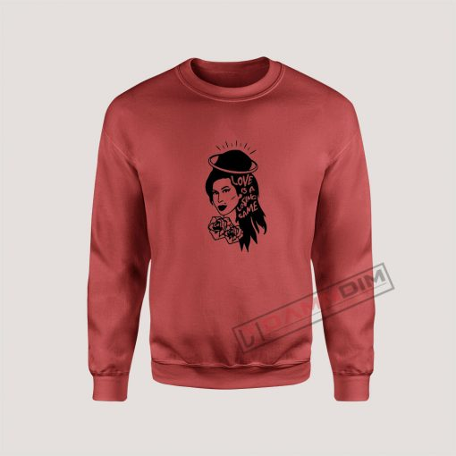 Sweatshirt Amy Winehouse Love Is A Losing Game