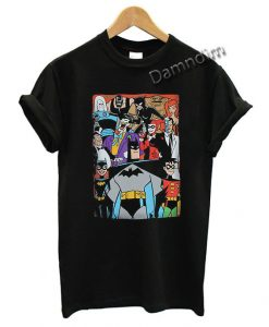 Batman The Animated Series Funny Graphic Tees