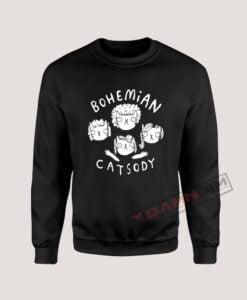 Sweatshirt Bohemian Catsody