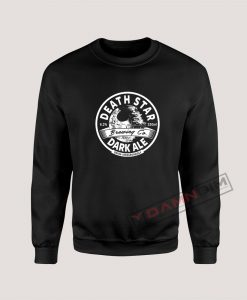 Sweatshirt Death Star Dark Ale