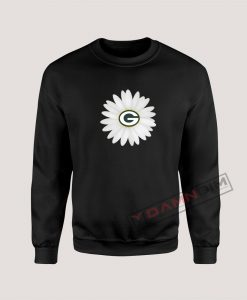 Sweatshirt Green Bay Packers Daisy