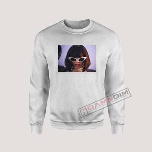 Sweatshirt amy blue the doom generation