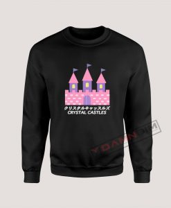 Sweatshirt crystal castle