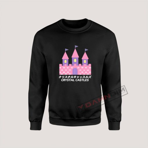 Sweatshirt crystal castle