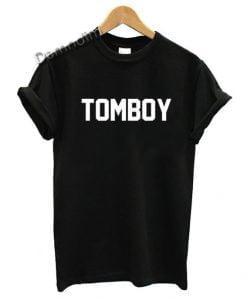 Gay Pride Tomboy Lesbian T Shirt