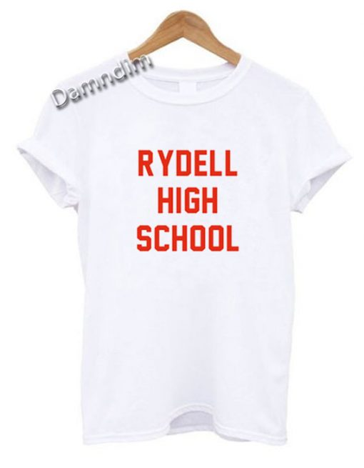 Rydell High School Funny Graphic Tees