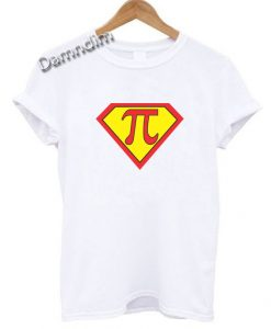 Superman Pi Funny Graphic Tees