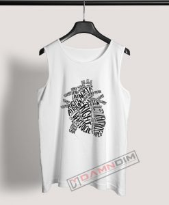 Tank Top Anatomical Heart Doctor Of Cardiology