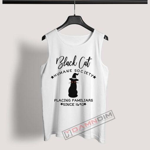Tank Top Black Cat