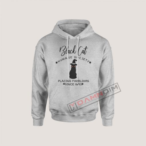 Hoodies Black Cat