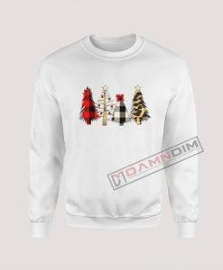Sweatshirt Christmas Trees
