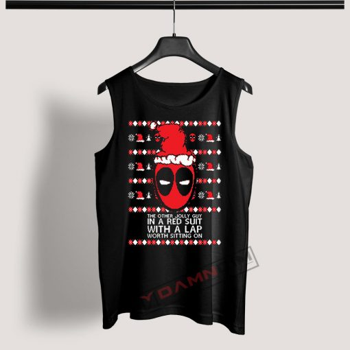 Tank Top Deadpool Ugly Christmas