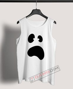 Tank Top Ghost Face