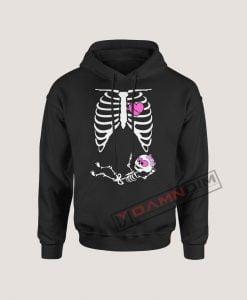 Hoodies Halloween Skeleton