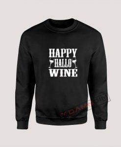 Sweatshirt Happy Hallo Wine