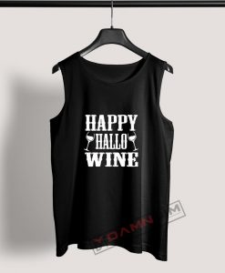 Tank Top Happy Hallo Wine