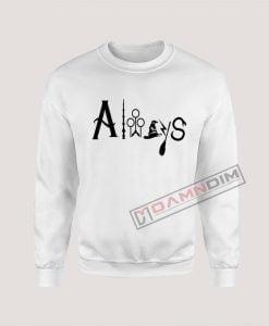 Sweatshirt Harry Potter Always