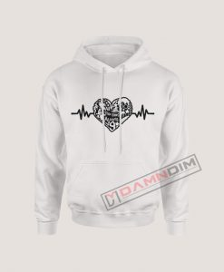 Hoodies Harry Potter Heart Beat
