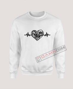 Sweatshirt Harry Potter Heart Beat