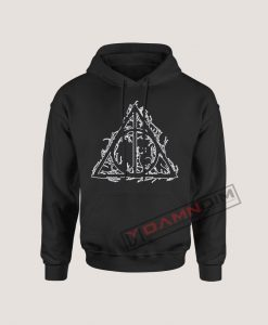 Hoodies Harry Potter deathly hallows Silhouette