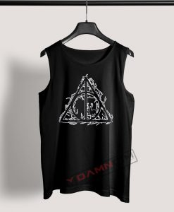 Tank Top Harry Potter deathly hallows Silhouette