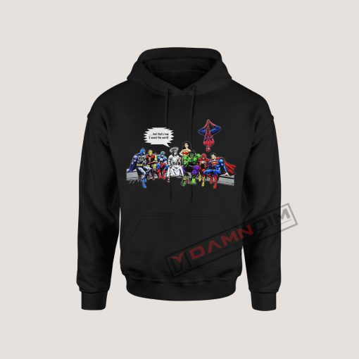 Hoodies Jesus Superheroes And That's How I Saved The World