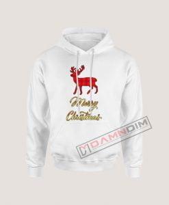 Hoodies Merry Christmas Deer