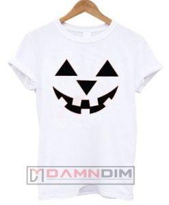 Pumpkin Face Jack-O-Lantern T Shirt
