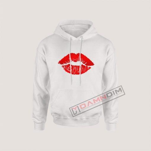 Hoodies Red Lips