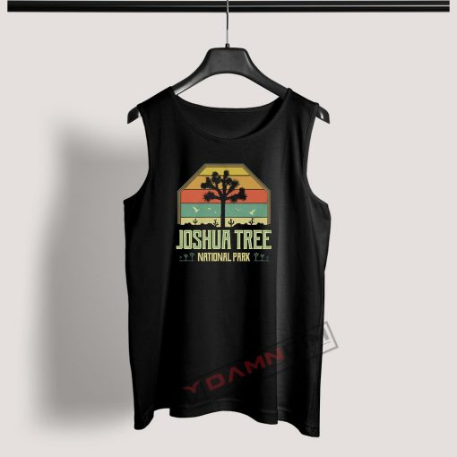 Tank Top Vintage Joshua Tree National Park