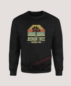 Sweatshirt Vintage Joshua Tree National Park