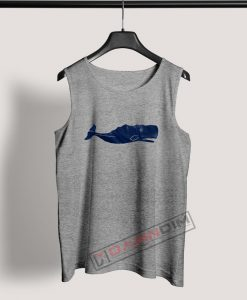 Tank Top Whale graphic