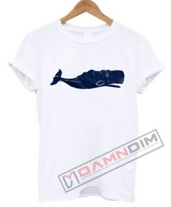 Whale graphic T Shirt