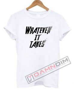 Whatever it Takes dusting effect avengers T Shirt