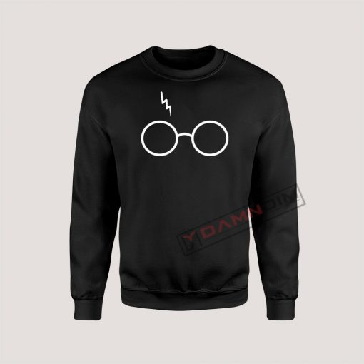 Sweatshirt Wizard Glasses