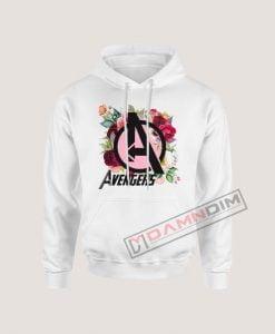 Hoodies avengers floral