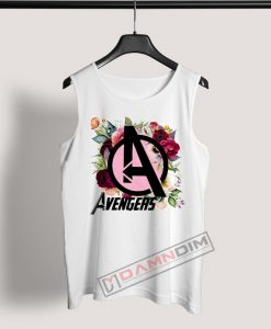 Tank Top avengers floral