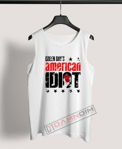 Tank Top American Diot Green Day