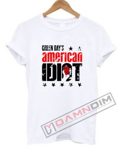 American Diot Green Day T Shirt