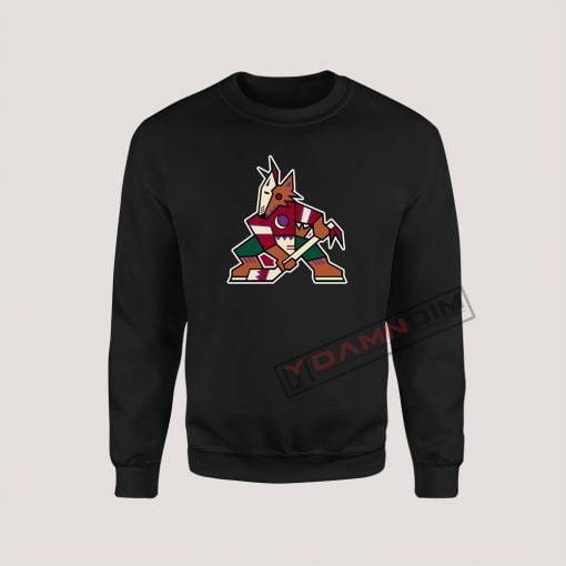 Sweatshirt Arizona Phoenix Coyotes Old Vintage
