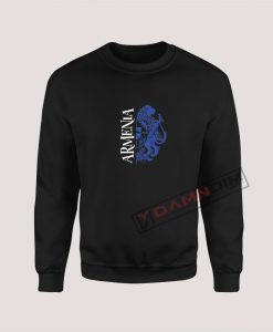 Sweatshirts Armenia Blue Coat of Arms