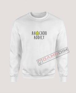 Sweatshirt Avocado Addict
