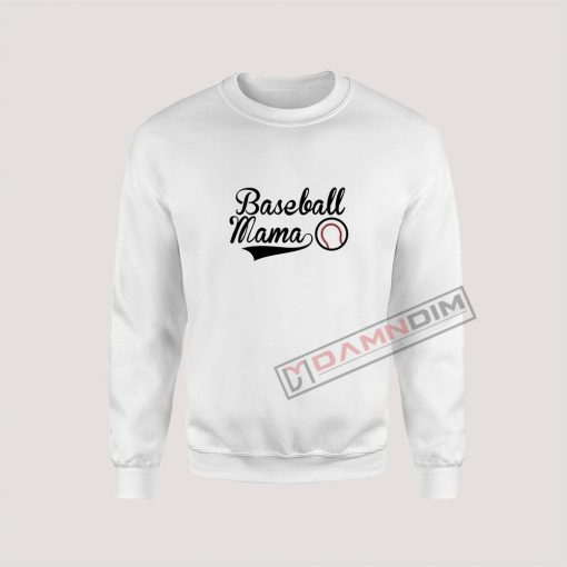 Sweatshirt Baseball Mama