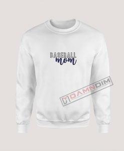 Sweatshirt Baseball Mom