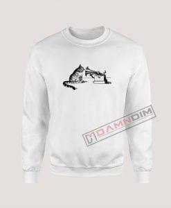 Sweatshirt CAT + PHONOGRAPH