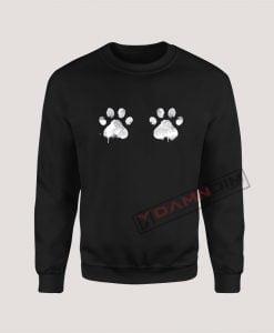 Sweatshirt Dog's feet