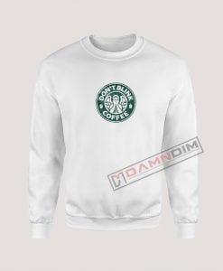 Sweatshirt Don't Blink Coffee