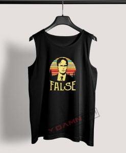 Tank Top Dwight Schrute False