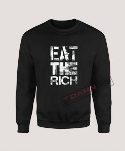 Sweatshirt Eat the Rich (2)